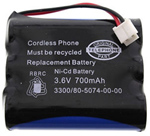 GE/RCA Battery for GE/RCA 5-2548 Replacement Battery