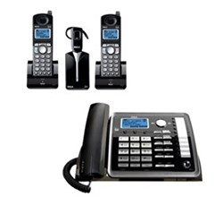General Electric RCA DECT 6 Three Handset Cordless Phones ge rca 25270re3plus1 25055re1