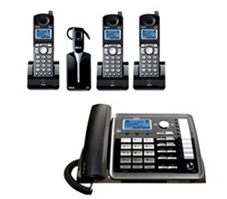 GE RCA 4 Handset Cordless Home Phones ge rca 25270re3plus2 25055re1