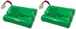 GE/RCA Battery for GE/RCA 27910 (2-Pack) Replacement Battery