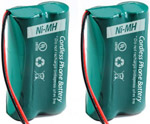 GE/RCA Battery for GE/RCA 6010 (2-Pack) Replacement Battery