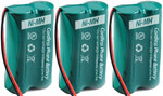 GE/RCA Battery for GE/RCA 6010 (3-Pack) Replacement Battery