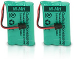 GE/RCA Battery for GE/RCA 5-2660 (2-Pack) Replacement Battery