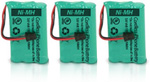 GE/RCA Battery for GE/RCA 5-2660 (3-Pack) Replacement Battery