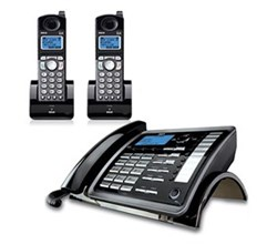 General Electric RCA DECT 6 Three Handset Cordless Phones rca visys 25255re2plus1 25055re1