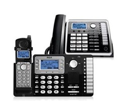 Multi Line Cordless Phones rca 25212 25260 bundle