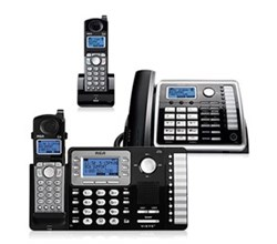 Multi Line Cordless Phones rca 25252 25055re1 25260 bundle