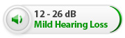 Amplified Phones for Mild Hearing Loss 12-26dB